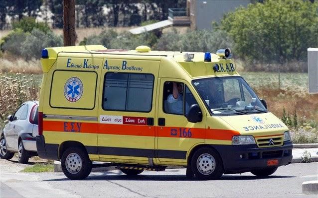 Τροχαίο ατύχημα μεταξύ φορτηγού και ΙΧ αυτοκινήτου μεσημέρι της Τρίτης στη Λάρισα