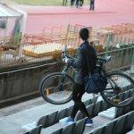 Ποδηλατικό πρόβλημα στο Αλκαζάρ
