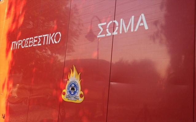 Λαρισαίοι πυροσβέστες στις φωτιές της Ζακύνθου