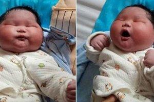Viral το μωρό που γεννήθηκε 7 κιλά! (ΦΩΤΟ)