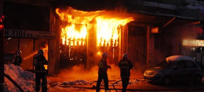 Οικία καταστράφηκε ολοσχερώς από φωτιά στην Ανάβρα Αγιάς