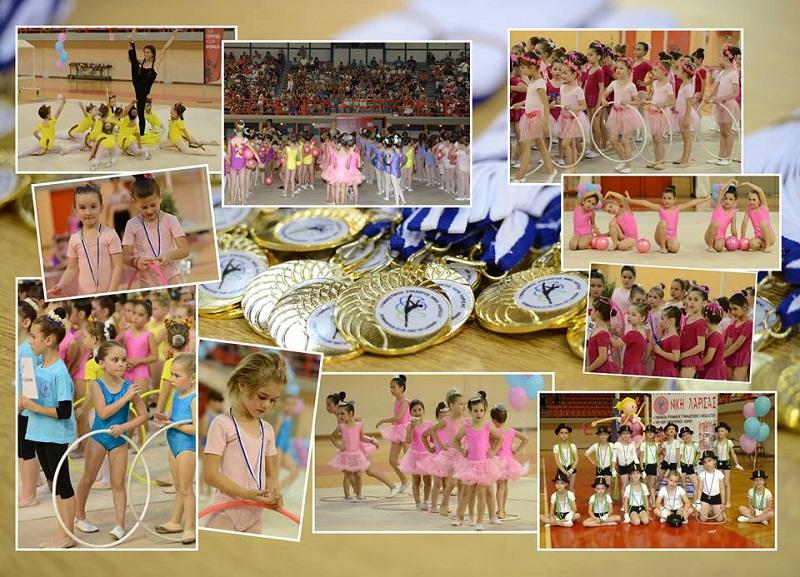 Πάνω από 600 συμμετοχές στο 2ο φεστιβάλ ρυθμικής γυμναστικής Λάρισας