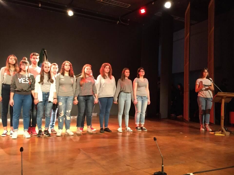 Συμμετοχή 5ου Γυμνασίου Λάρισας στο Φεστιβάλ: «Μονόλογοι από το Αιγαίο»