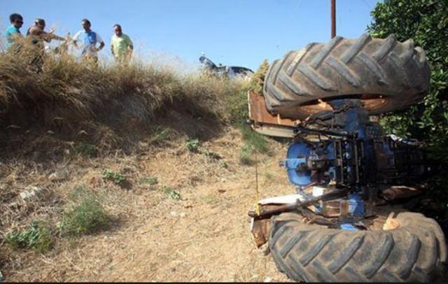 Νεκρός 52χρονος στην Ημαθία μετά από ανατροπή γεωργικού ελκυστήρα