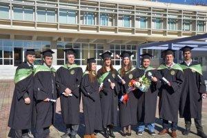 Τελετή Απονομής Πτυχίων Αποφοίτων Σχολής Θετικών Επιστημών Πανεπιστημίου Θεσσαλίας