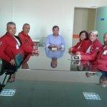 Στον διοικητή των Νοσοκομείων η Ελληνική Ομάδα Διάσωσης