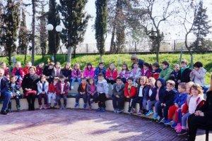Μάθημα κυκλοφοριακής αγωγής για τα παιδιά των Παιδ. Σταθμών