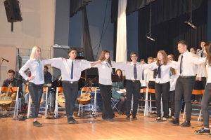 Κλικς από την εκδήλωση της 25ης Μαρτίου στο Μουσικό Σχολείο