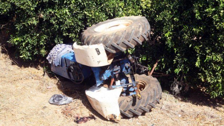 Σοβαρά τραυματισμένος ο οδηγός του τρακτέρ που ανατράπηκε στην Επίδαυρο