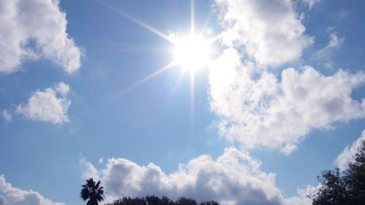 Αίθριος καιρός τη Δευτέρα στη Θεσσαλία