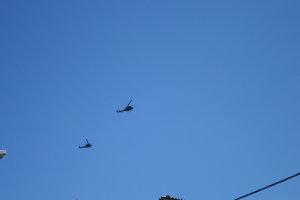 Ελικόπτερα πάνω από την κηδεία του ταγματάρχη – κυβερνήτη (ΦΩΤΟ)