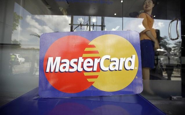 Kάρτα με σαρωτή αποτυπώματος από τη Mastercard