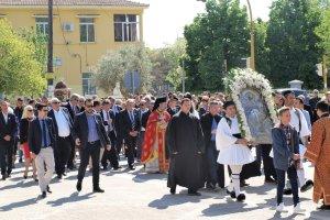 Λαμπρές εκδηλώσεις για τον Άγιο Γεώργιο στη Νίκαια
