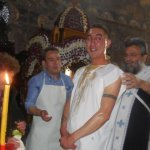 Βάφτιση 25χρονου στα Τρίκαλα (φωτό)
