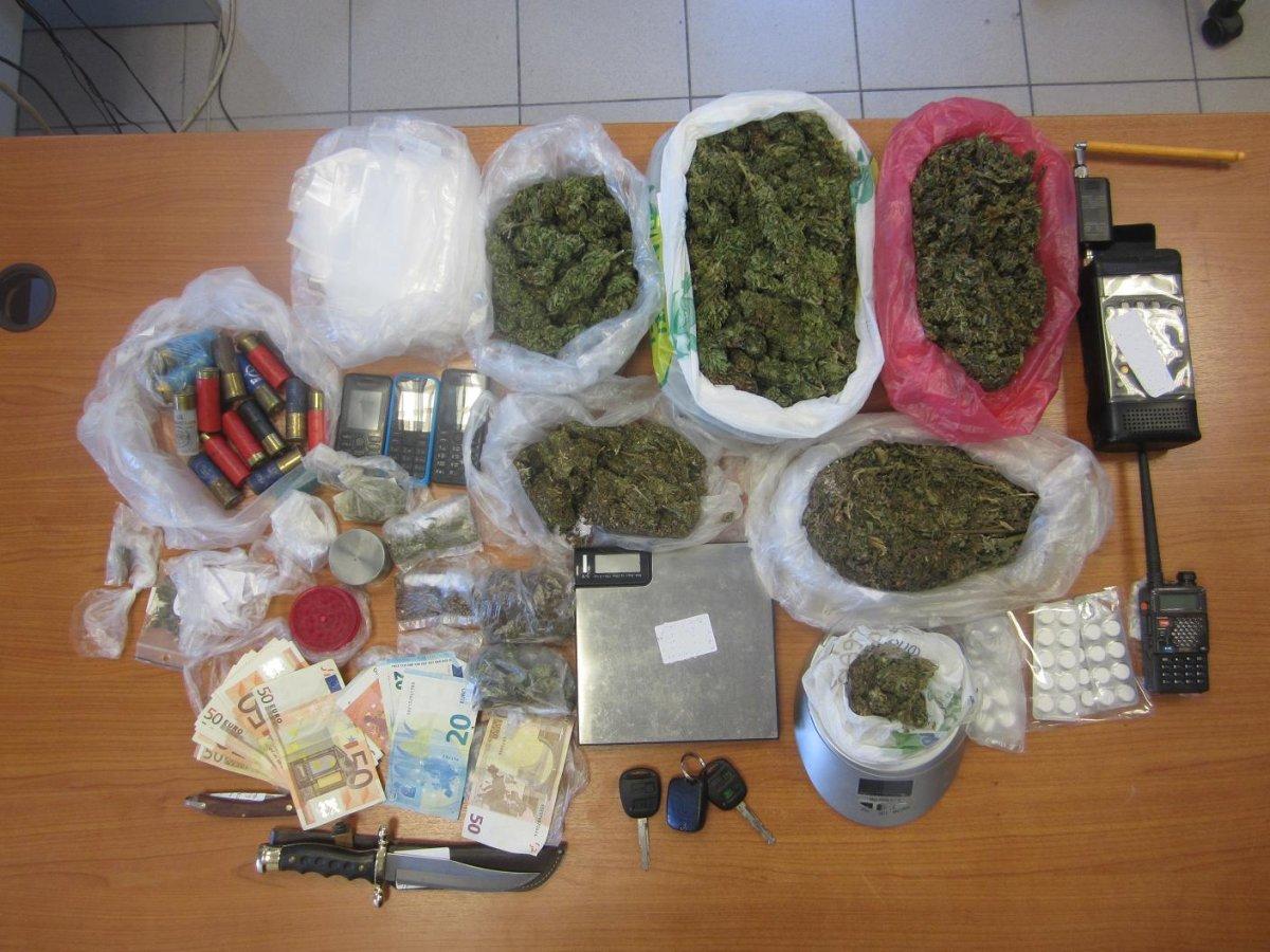 Συλλήψεις 3ων ατόμων χθες το βράδυ για ναρκωτικά στη Λάρισα