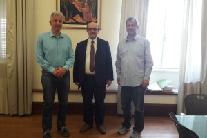 Στο Τεχνολογικό Πανεπιστήμιο Κύπρου ο πρόεδρος του ΤΕΙ Θεσσαλίας