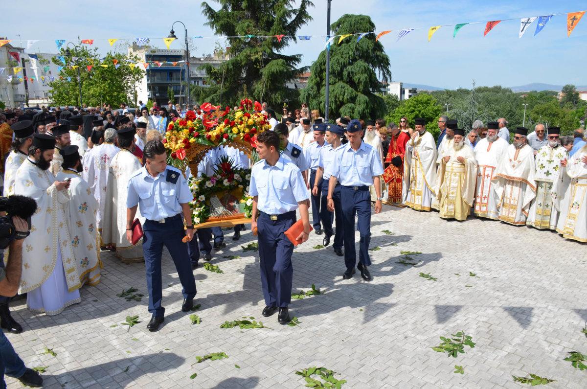H Λάρισα σήμερα γιορτάζει τον Πολιούχο της Άγιο Αχίλλιο