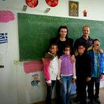 Με τους μαθητές της Καλλιπεύκης