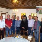 Προσκύνημα αποστράτων στην Ι. Μ. Αγίου Νικολάου Σιαμάδων