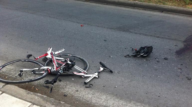 Τροχαίο ατύχημα με ποδηλάτη στη Λάρισα