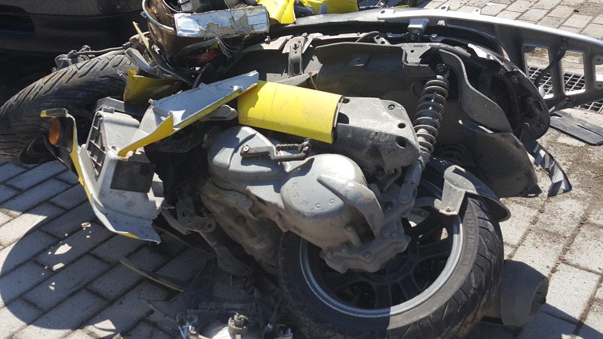 Λάρισα: Τροχαίο με μηχανάκι στην Ιωαννίνων