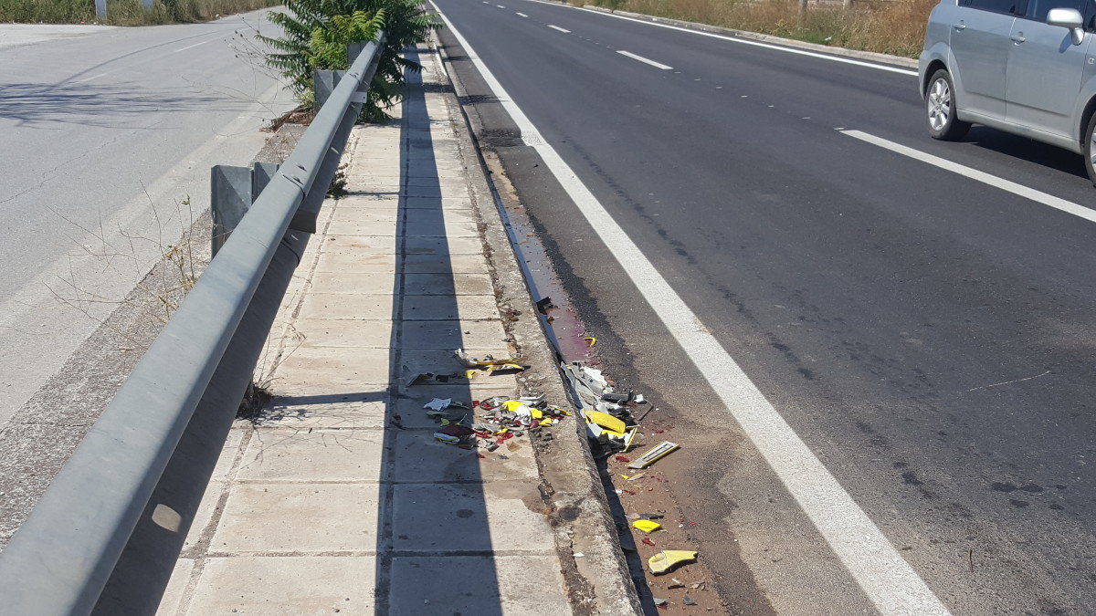 Ίδιος αριθμός τροχαίων ατυχημάτων στη Θεσσαλία τον Μάρτιο σε σχέση με πέρυσι