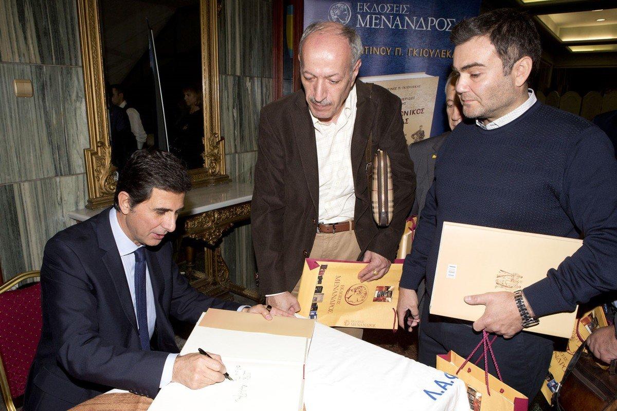 Ο Κώστας Γκιουλέκας επισκέπτεται τη Λάρισα για την παρουσίαση του νέου του βιβλίου
