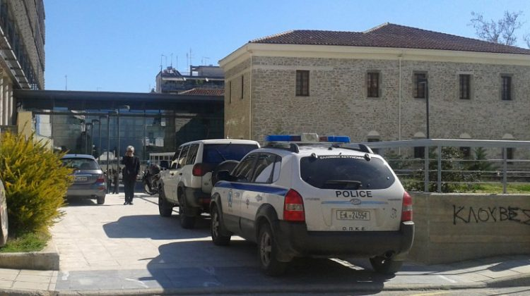 Τηλεφώνημα για βόμβα σήμερα το πρωί στα Δικαστήρια των Τρικάλων