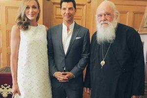 Ρουβάς και Ζυγούλη πήραν την ευλογία του Αρχιεπισκόπου