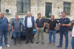 Επίσκεψη στις πληγείσες περιοχές του Δήμου Τεμπών