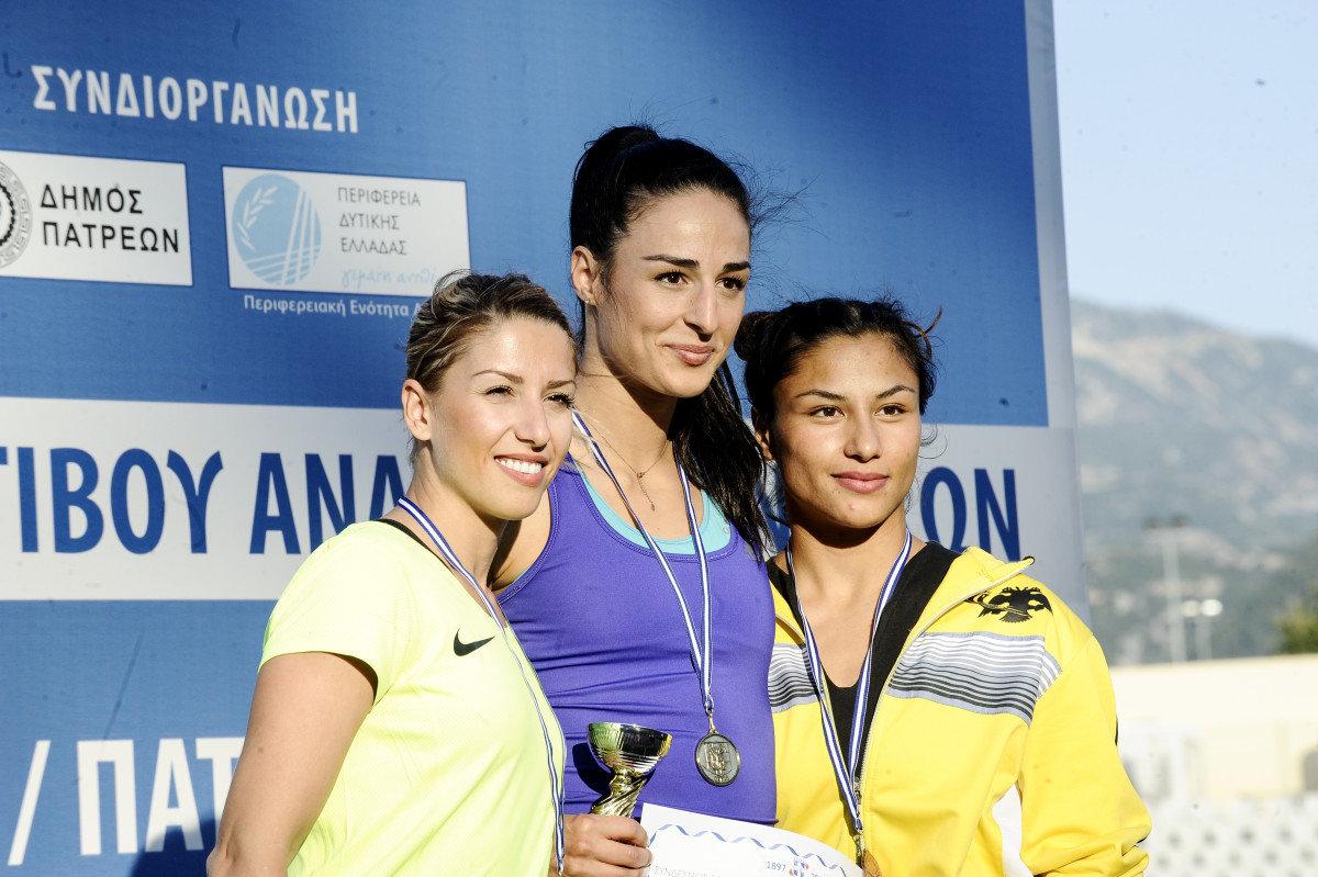 Πρωταθλήτρια Ελλάδας στο άλμα εις μήκος η Λαρισαία Λίλη Αλεξούλη