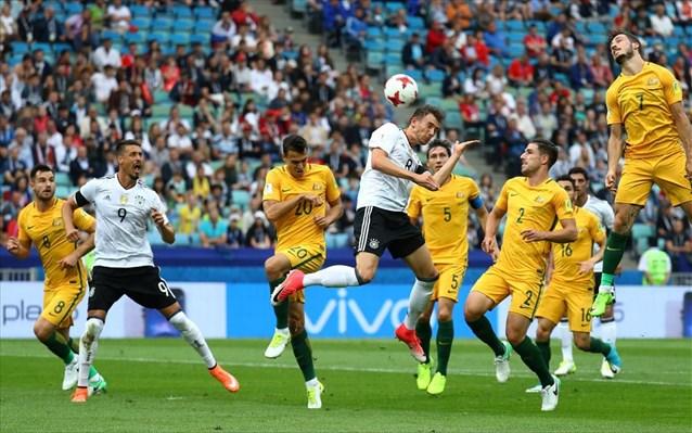Κύπελλο Συνομοσπονδιών: Η Γερμανία πήρε το ντέρμπι με την Αυστραλία