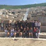 «Ιφιγένεια εν Ταύροις» στο Β΄ αρχαίο θέατρο από το 5ο Γυμνάσιο Λάρισας