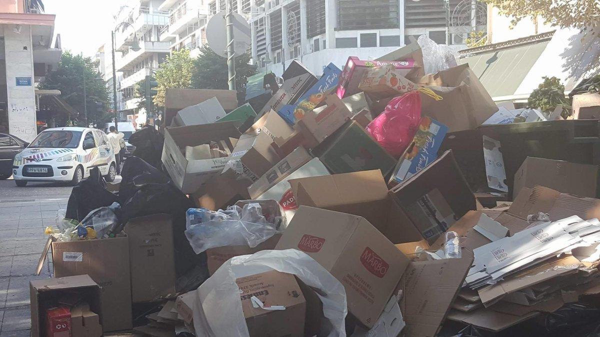 Σκέψεις για ψεκασμούς στους σωρούς των σκουπιδιών από τις υπηρεσίες καθαριότητας του Δήμου Λαρισαίων