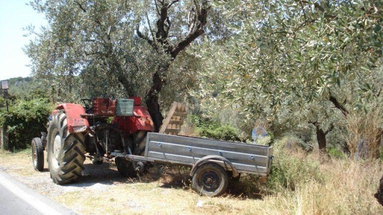 63χρονος αγρότης έπαθε ανακοπή επάνω στο τιμόνι του τρακτέρ του
