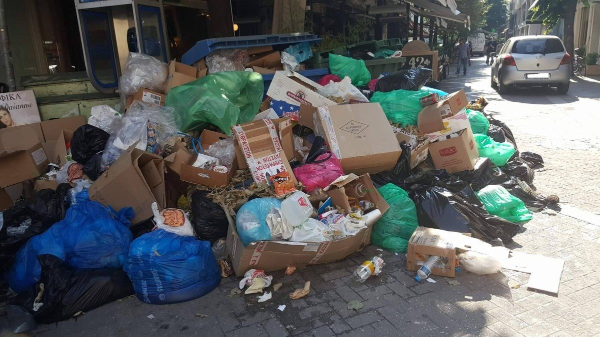 Αδάμ, Παληογιάννης και Παπαδόπουλος παρεμβαίνουν για τα σκουπίδια στη Λάρισα - Ζητούν την άμεση λήψη μέτρων