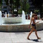 Ζέστη και τη Δευτέρα στη Λάρισα (Ωριαία Πρόγνωση)