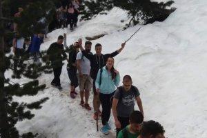 Πεζοπορία φοιτητών ΤΕΙ Θεσσαλίας και Erasmus σε Όλυμπο – Κίσσαβο (ΦΩΤΟ)