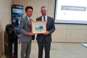 H ΘΕΟΧΑΡΑΚΗΣ Α.Ε.  γιορτάζει 60 συναπτά έτη συνεργασίας με τα ελαστικά YOKOHAMA