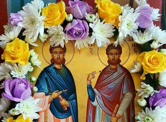Ιερά Πανήγυρις Αγίων Αναργύρων στον Άγιο Αθανάσιο
