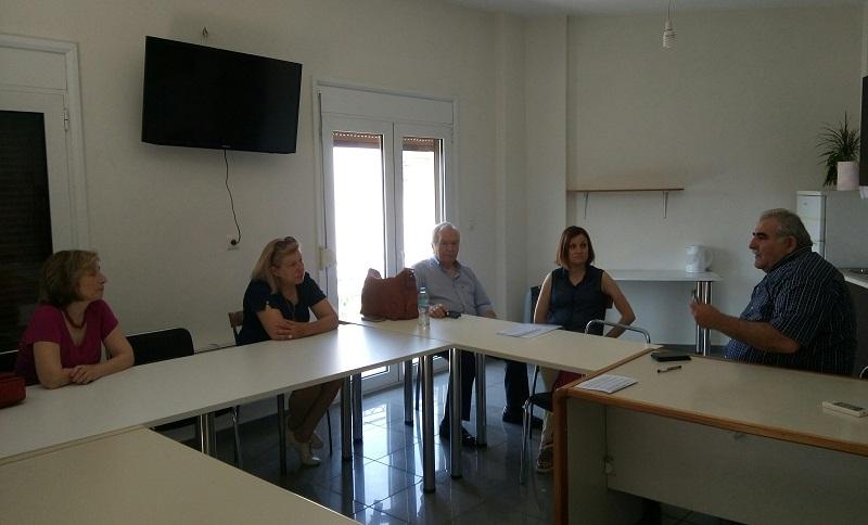 Συνάντηση Ν.Παπαδόπουλου με το Εφορευτικό Συμβούλιο της Βιβλιοθήκης