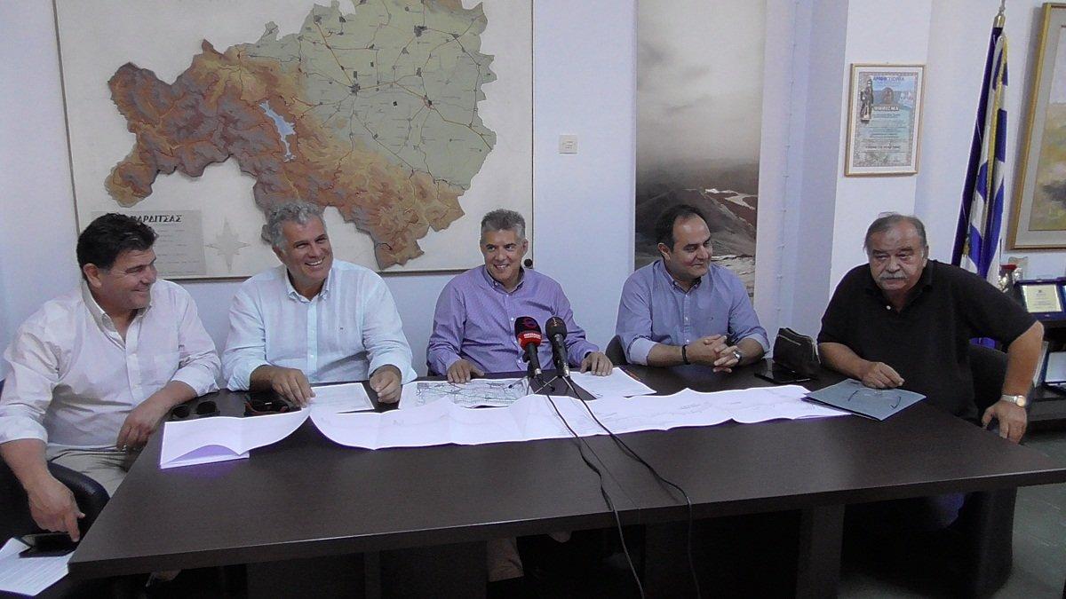 Στο ΠΕΠ Θεσσαλίας η κατασκευή του έργου «ΟΔΟΣ ΔΕΛΤΑ – ΠΑΛΑΜΑ»