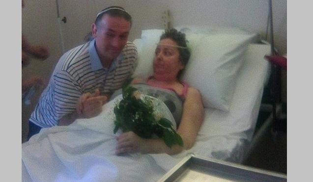 Συγκινητική τελετή γάμου στο Νοσοκομείο Βόλου