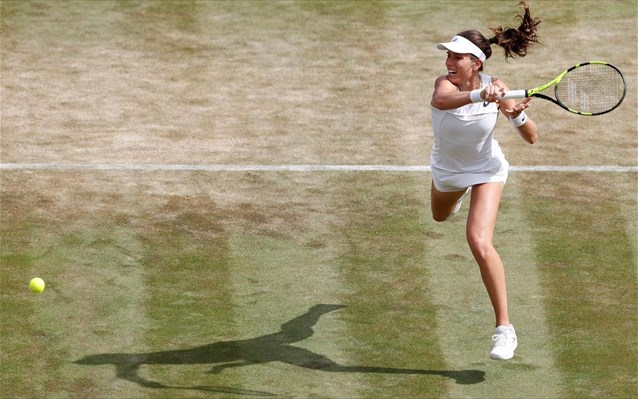 Wimbledon: Αποκλείστηκε η Σάκκαρη
