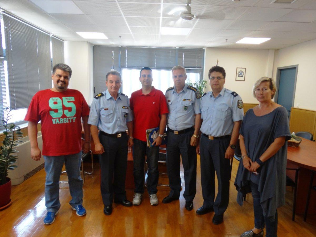 Επίσκεψη στον Αστυνομικό Διευθυντή