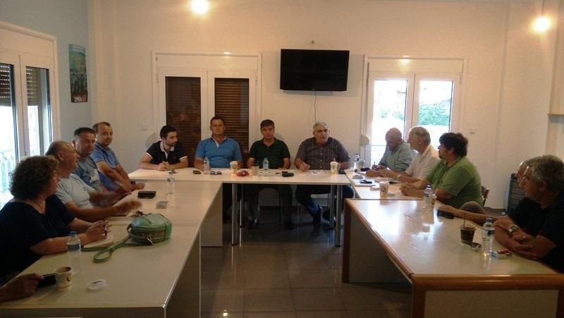 Πανθεσσαλική σύσκεψη των αγροτικών τμημάτων του ΣΥΡΙΖΑ