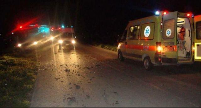 Ένας τραυματίας σε τροχαίο ατύχημα στη Λάρισα
