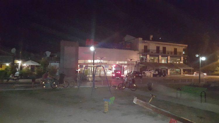 Τρίκαλα: Συναγερμός τη νύχτα για φωτιά σε σούπερ μάρκετ