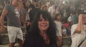 Στην Επίδαυρο για το «Θεσσαλικό Θέατρο» η Άννα Βαγενά (ΦΩΤΟ)