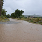 Ολοκληρωτική καταστροφή αγροτικής οδοποιίας στα παράλια